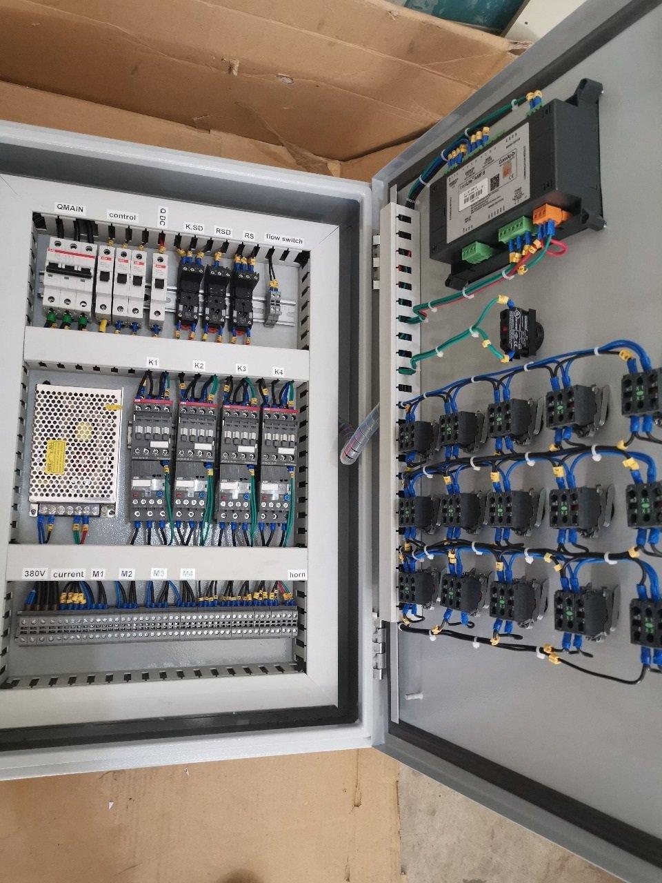 تصنيع لوحات توزيع الكهرباء