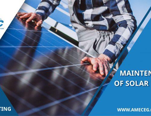 كيفية صيانة ألواح الطاقة الشمسية